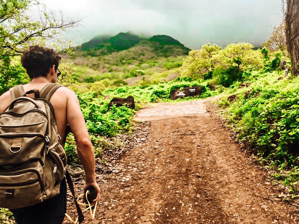 San Ramon Waterfall hike, Ometepe, Nicaragua