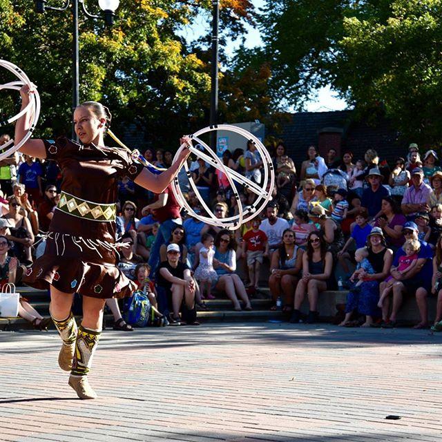 Maria Livingston - Traditional Hoop Dance #blackfootterritory  #loveandrecords 2015 #ckxu