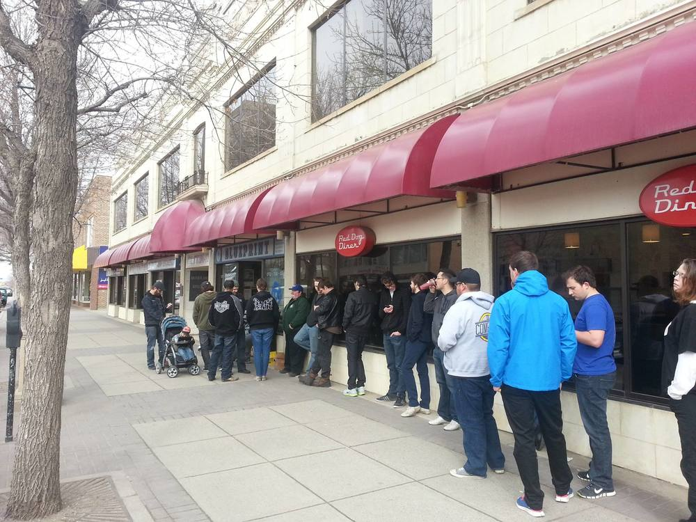 Record Store Day lineup at Blueprint