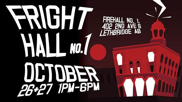 CKXU 88.3 FM is incredibly excited to announce that we have partnered with one of our favourite local cooking organizations, the Terrific Kids Artist Collective, to put on the 'Fright'hall No. 1 Haunted House + Music Fest!! Check out the CKXU Facebook page for event + ticket info ✨🎶🦇🧡 #halloween #hauntedhouse #yql #lethbridge #music #musicfestival #frighthallno1