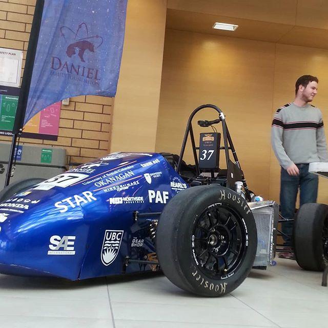 Come check us out today on campus. Zero floor eme!  #racecar #fsae #ubco @ubcprez #becauseracecar #diy #builtnotbought