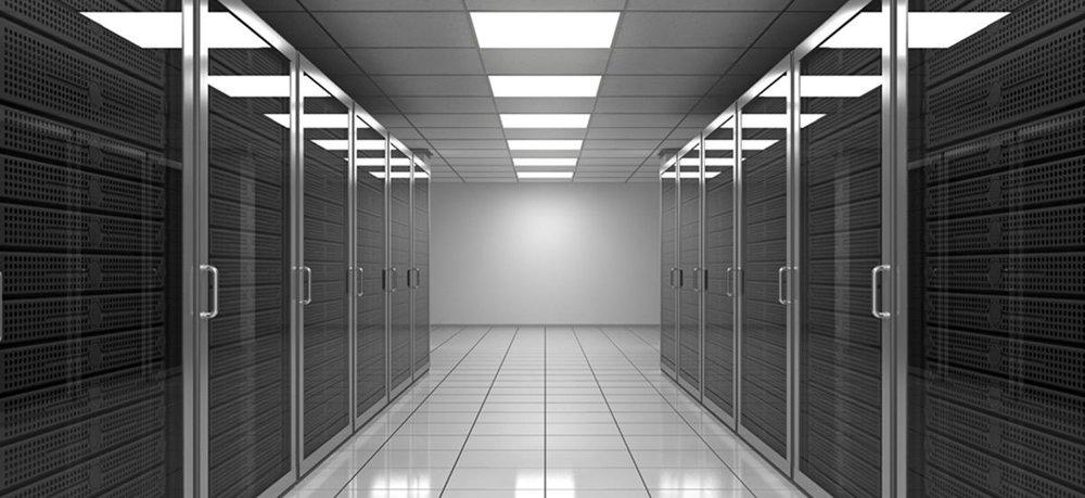 data centre hall