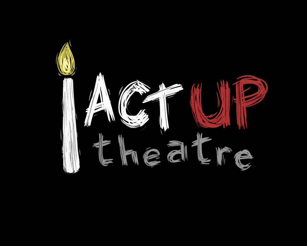 Logo designed for Act Up Theatre.