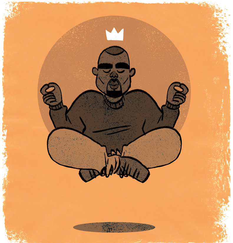 The Life of Pablo/Kanye West illustration