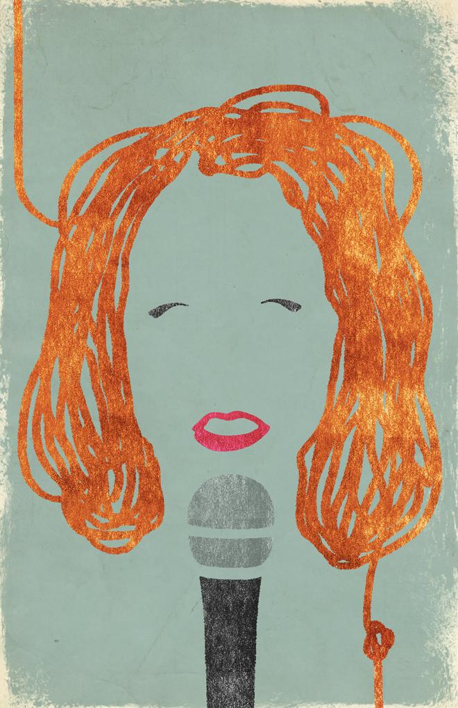 Nina Grollman gig poster
