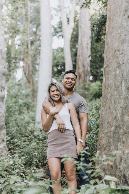 oahu hawaii engagement portrait photographer tantalus 13