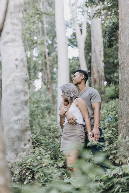 oahu hawaii engagement portrait photographer tantalus 15