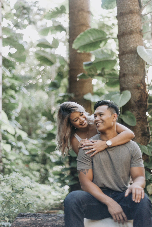 oahu hawaii engagement portrait photographer tantalus 17