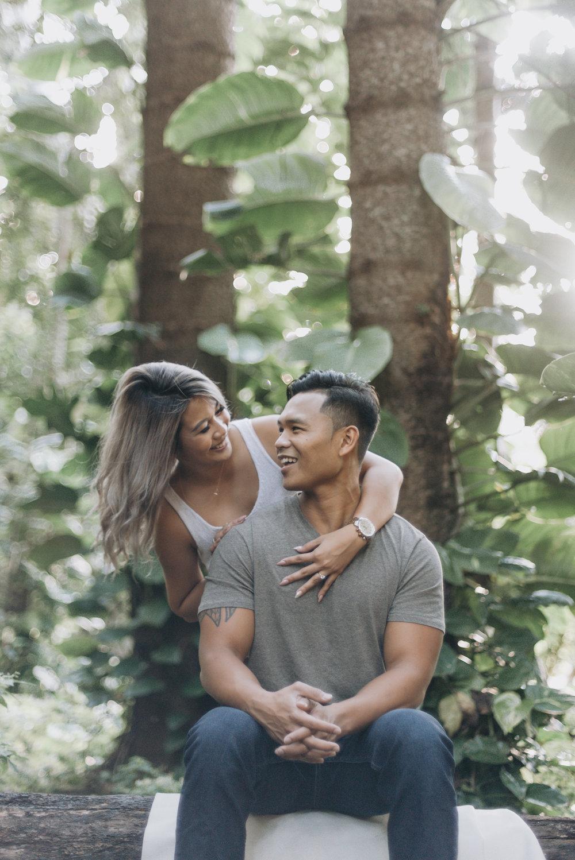 oahu hawaii engagement portrait photographer tantalus 18