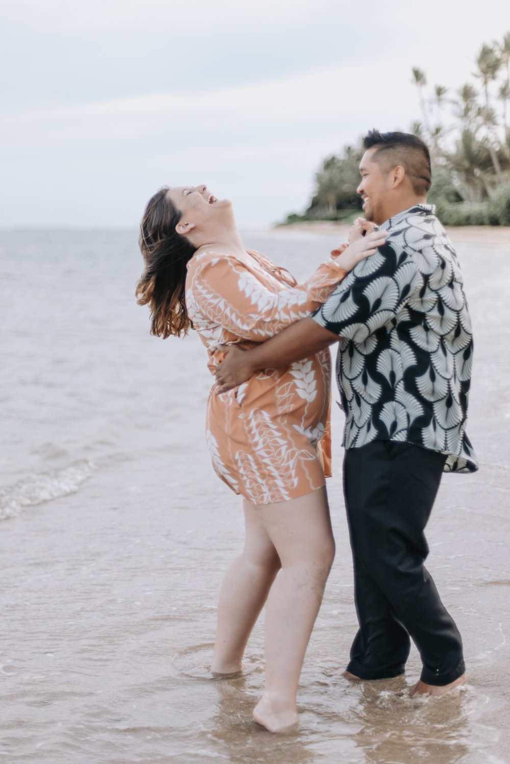 Kahala Beach Engagement | Oahu Lifestyle Photographer