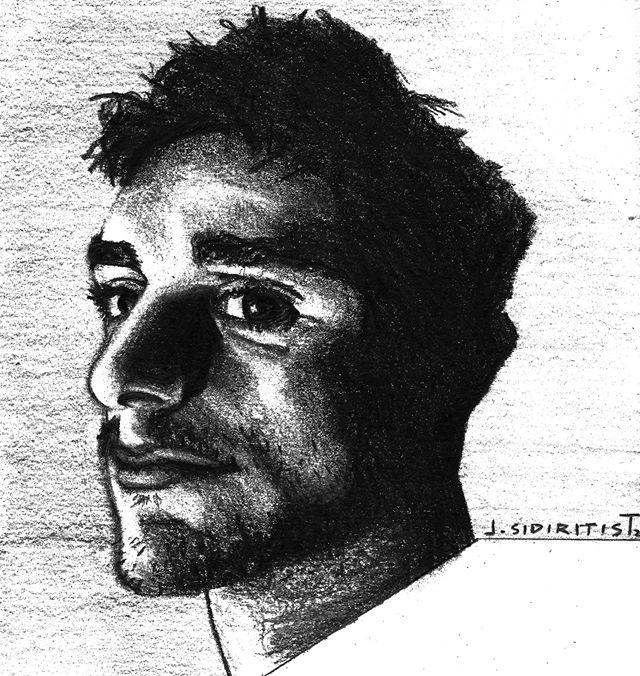 hello  #selfportrait #illustration #charcoal #selfie #drawing #hello #hellas #art #illustrationccc #comics
