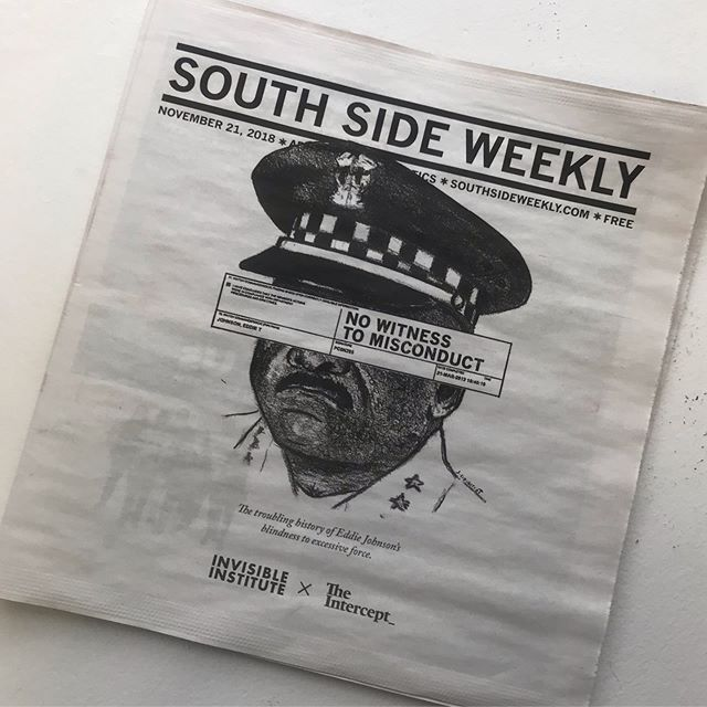 Eddie Johnson - South Side Weekly Police Misconduct...starts from the top. R.I.P Rekia Boyd.  #illustration #charcoal #portrait #chicago #southsideweekly #police #chicagopolice #southside #eddiejohnson #policebrutality #policemisconduct #chicago #illustrationccc #rekiaboyd