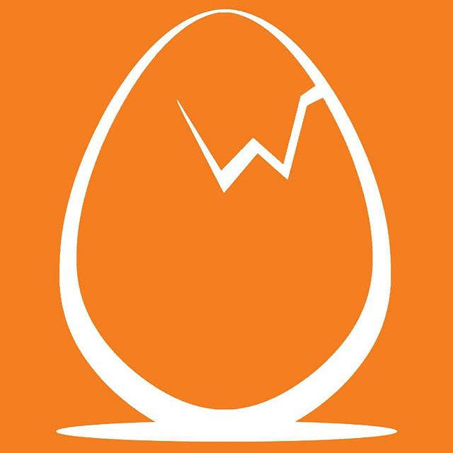 Logo design  #logo #branding #graphicdesign #egg #breakfast #cafe #restaurant #wicked #art #graphics #illustrator #vector #orange #morning #crack #eggs