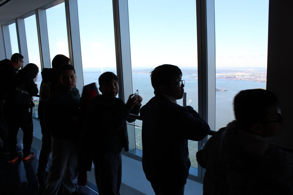 2018 Field Trip to the One World Observatory
