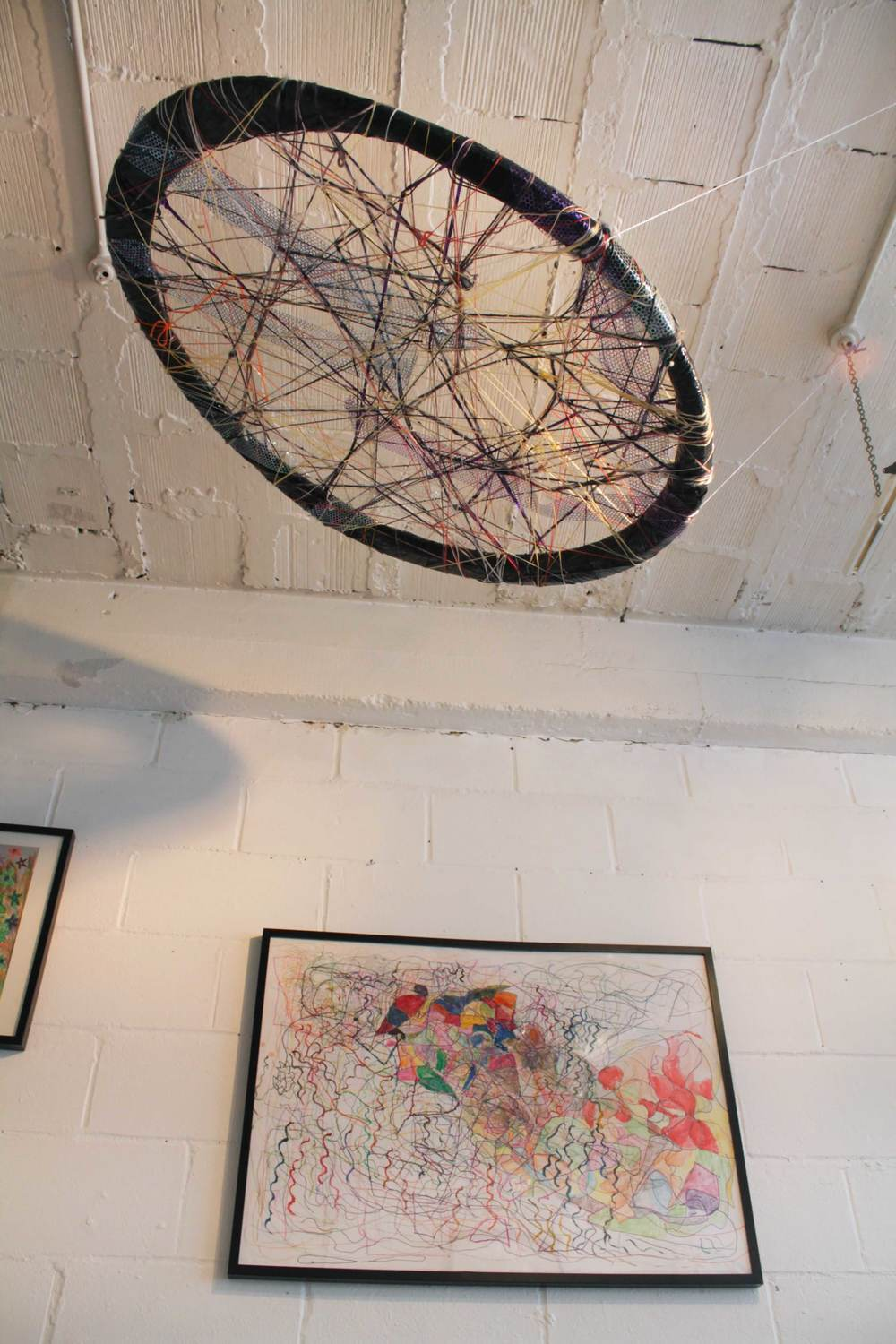 ActionSpace Cockpit arts Open exhibition