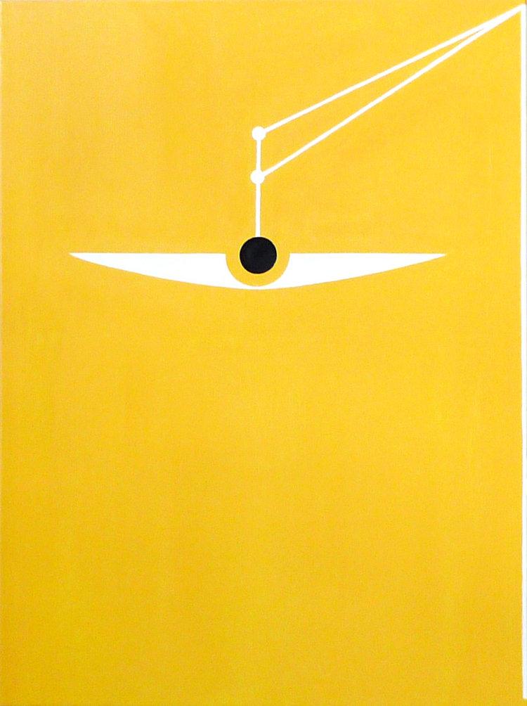 2017, Balance No.1   Helene Lundbye Petersen,  Balance No.1,  2016, Painting, Oil on Canvas, 130 x 97 cm.