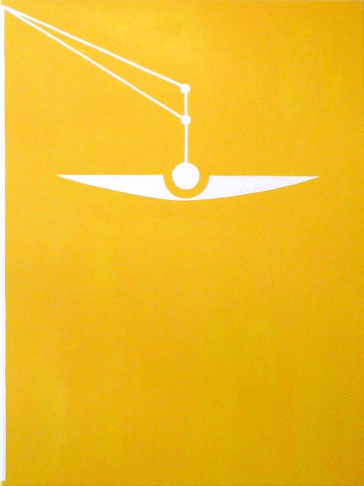 2017, Balance No. 2   Helene Lundbye Petersen,  Balance No.1 , 2016, Painting, Oil on Canvas, 130 x 97 cm.