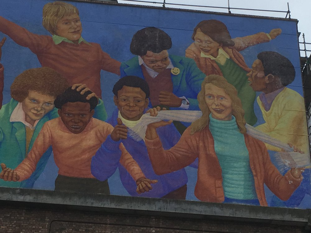 Children at Play Mural, Brixton