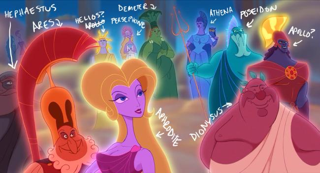 Greek Gods According To Disney Eat Your Lipstick