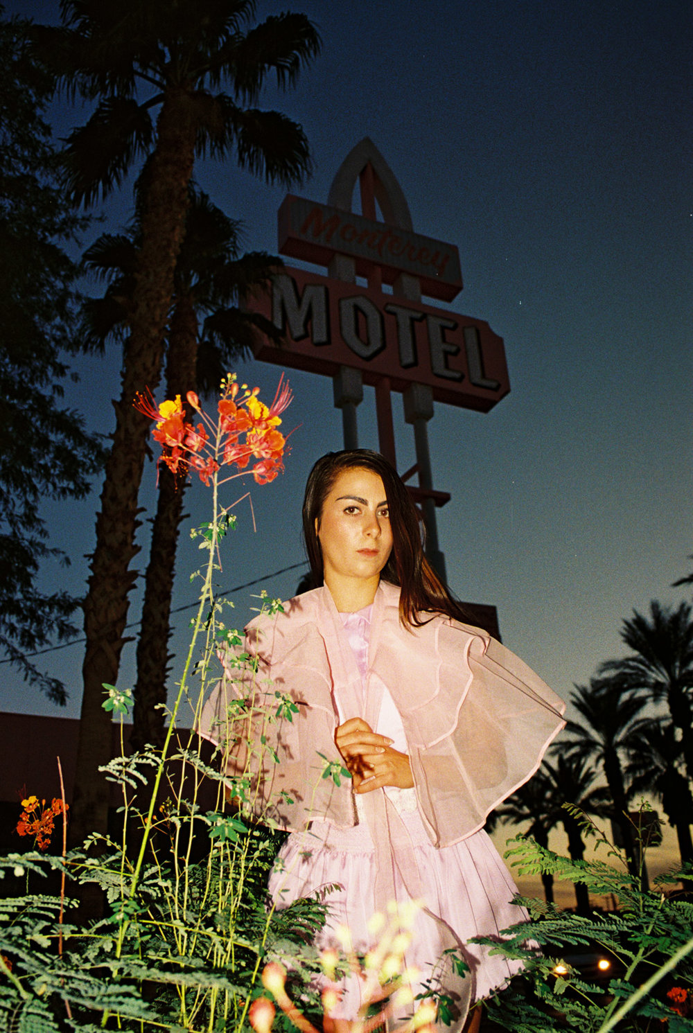 Cara at the Monterery Motel
