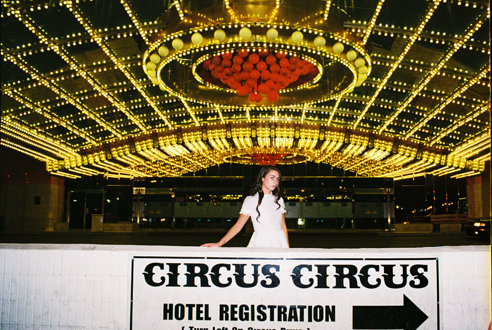Cara at Circus Circus
