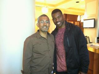 Me and Herschel in August 2011