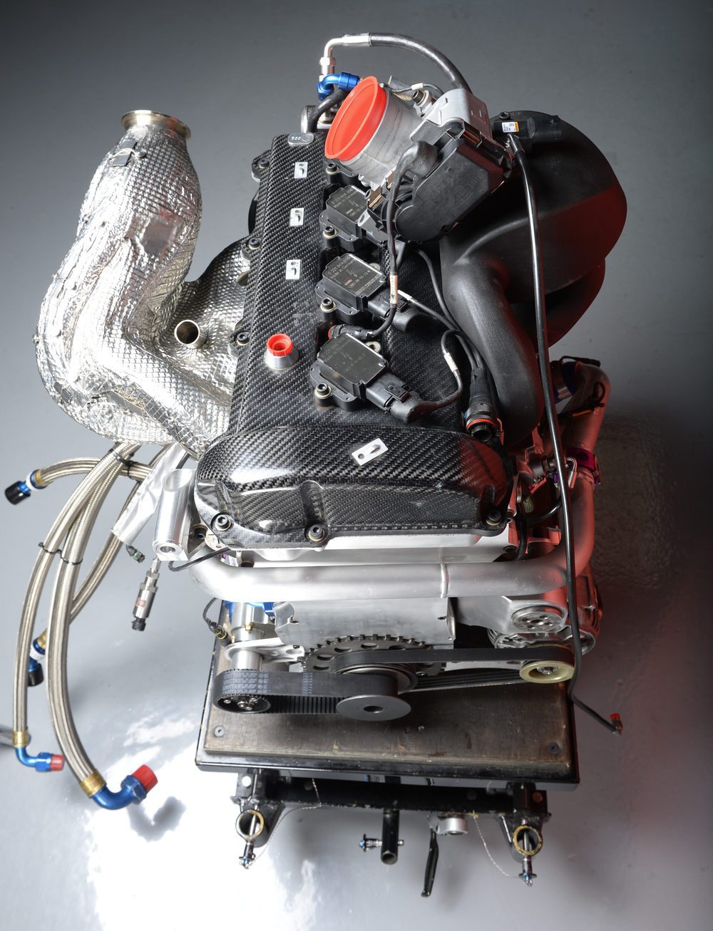 The DeltaWing's engine