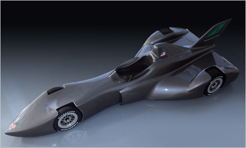 The IndyCar version of the DeltaWing