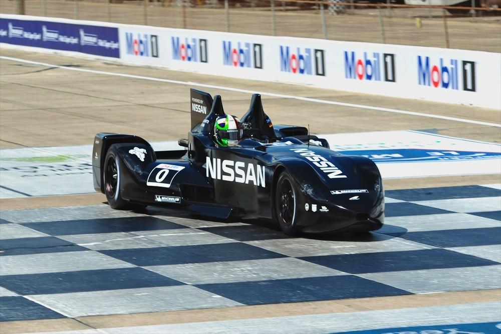 Testing at Sebring in 2012
