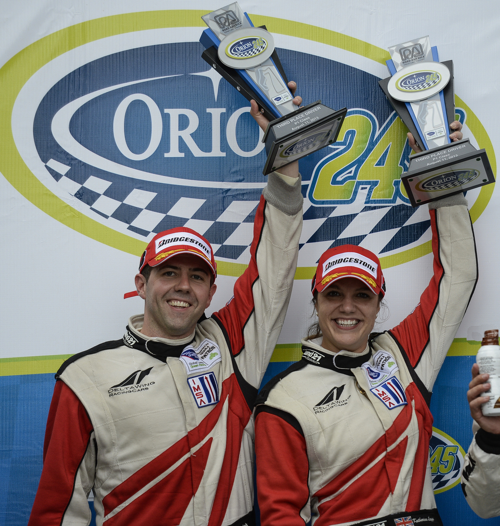 First podium for the DeltaWing in LMP1