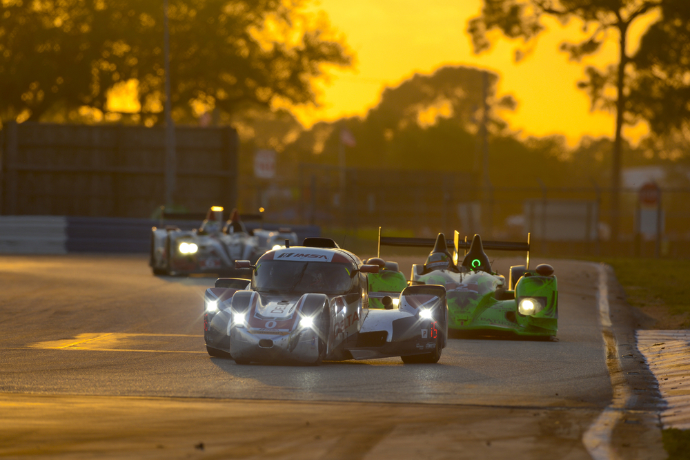 Sundown at the 2013 Petit Le Mans