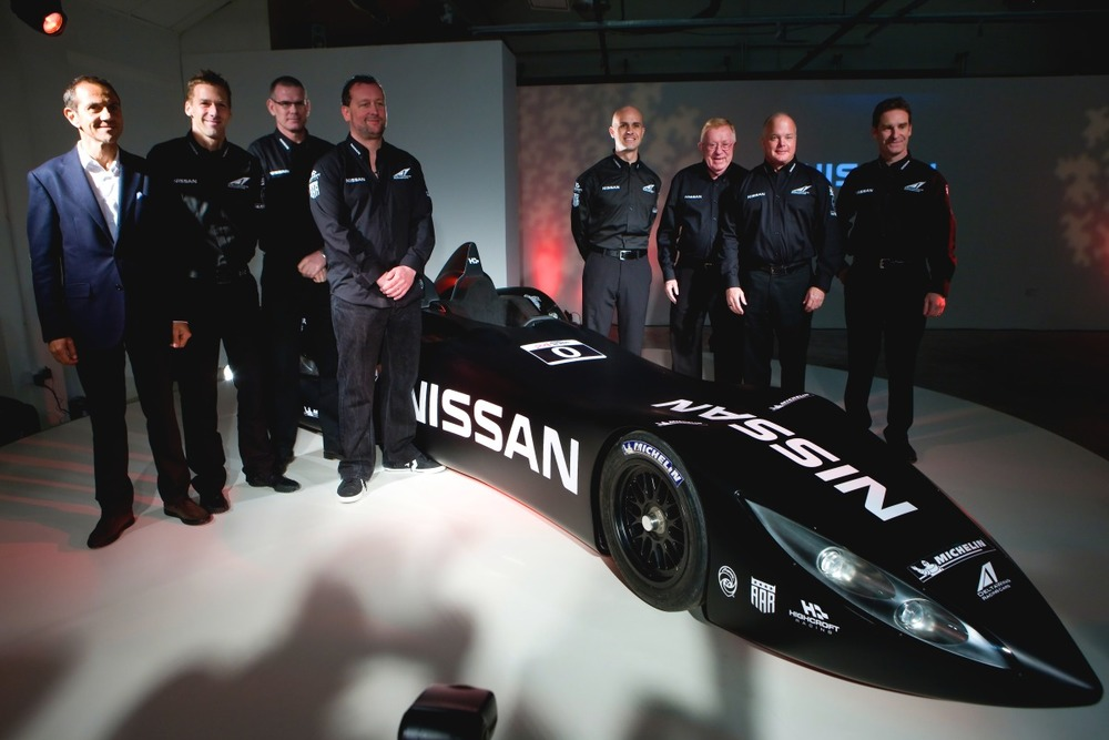 Nissan DeltaWing London Launch