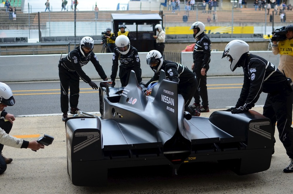 Le Mans Test day - behind the scenes