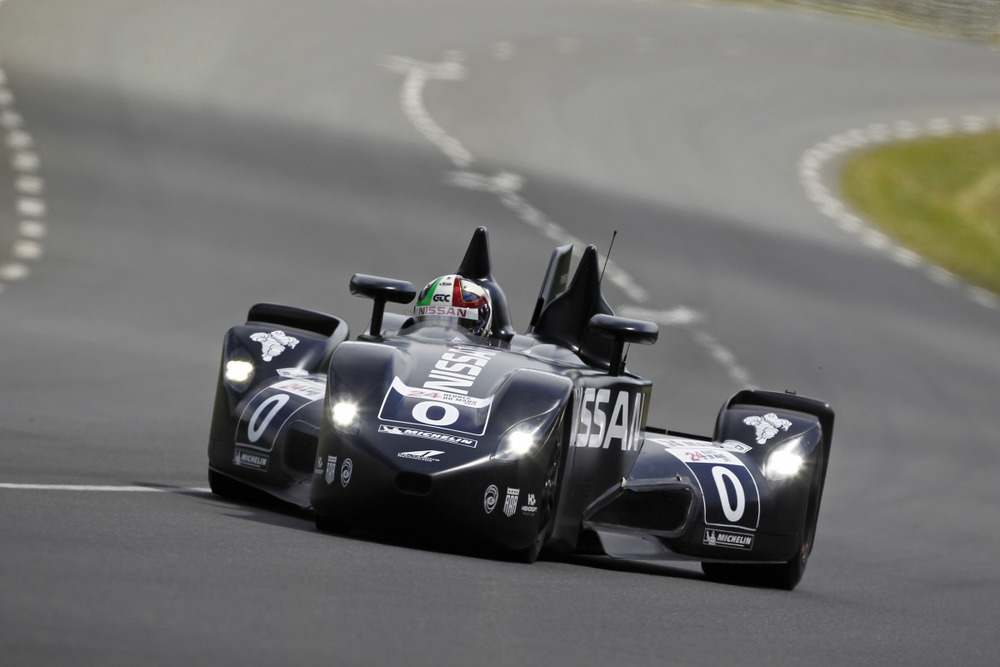 Le Mans Test day - on track