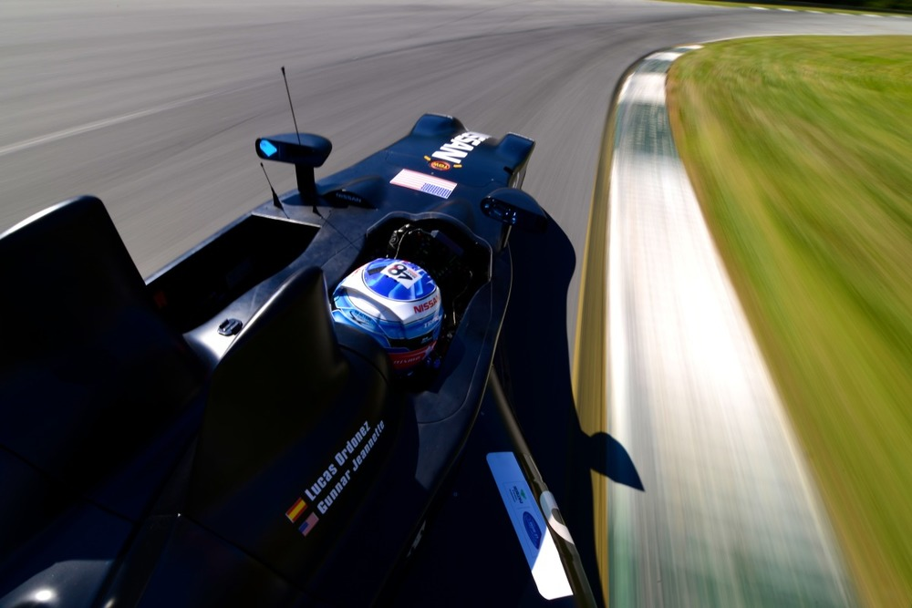 Nissan DeltaWing Road Atlanta Testing #3
