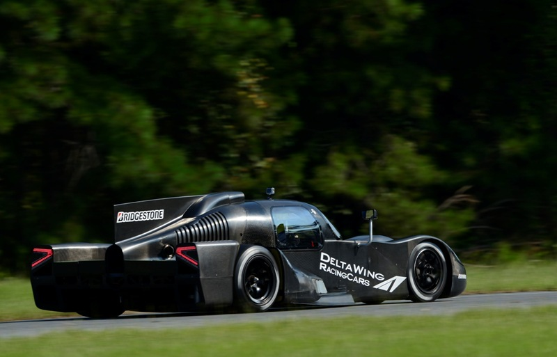 DeltaWing Coupe Initial Test 2013