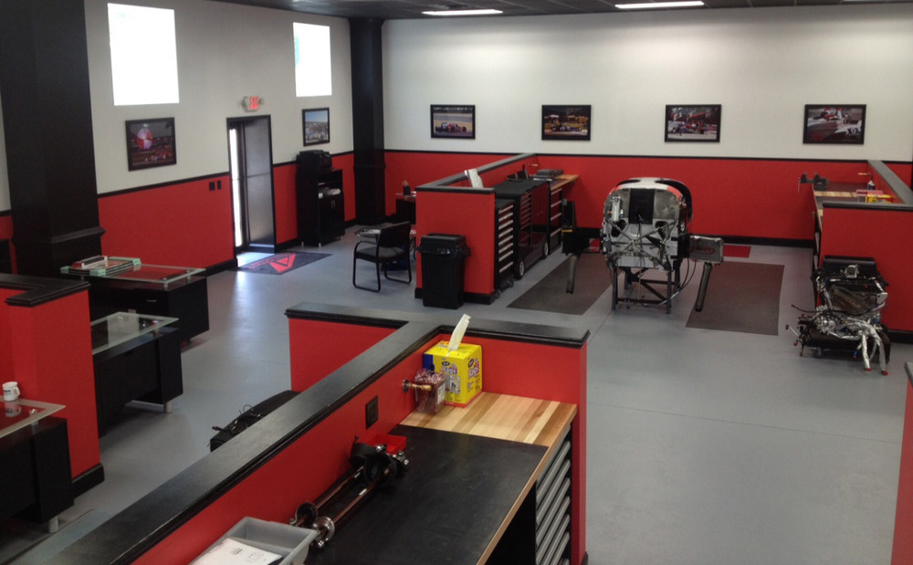 DeltaWing team unveils new shop