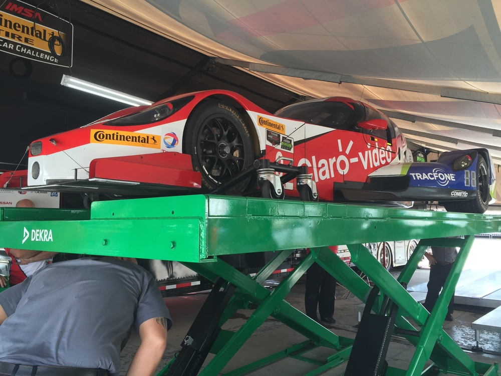 Technical inspection at COTA, 2015