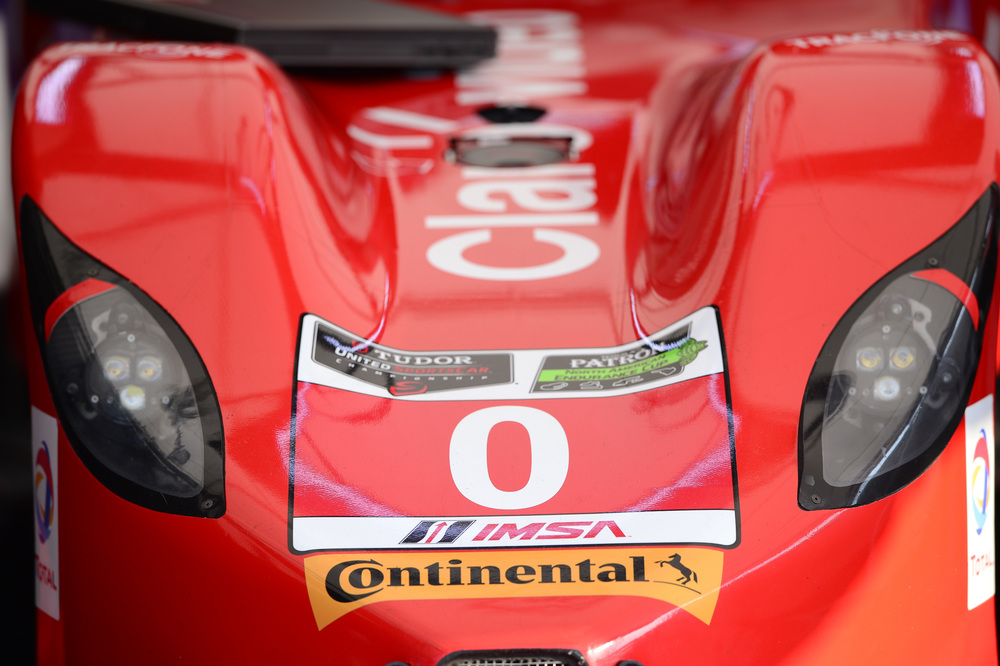 The DeltaWing's nose