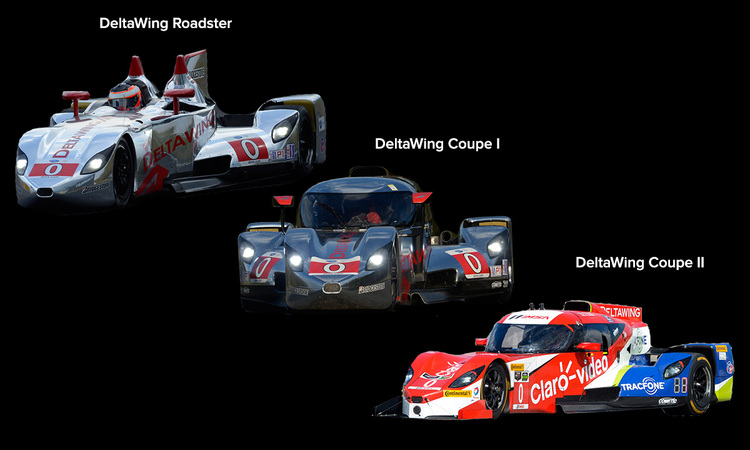 The concept  DeltaWing Racing