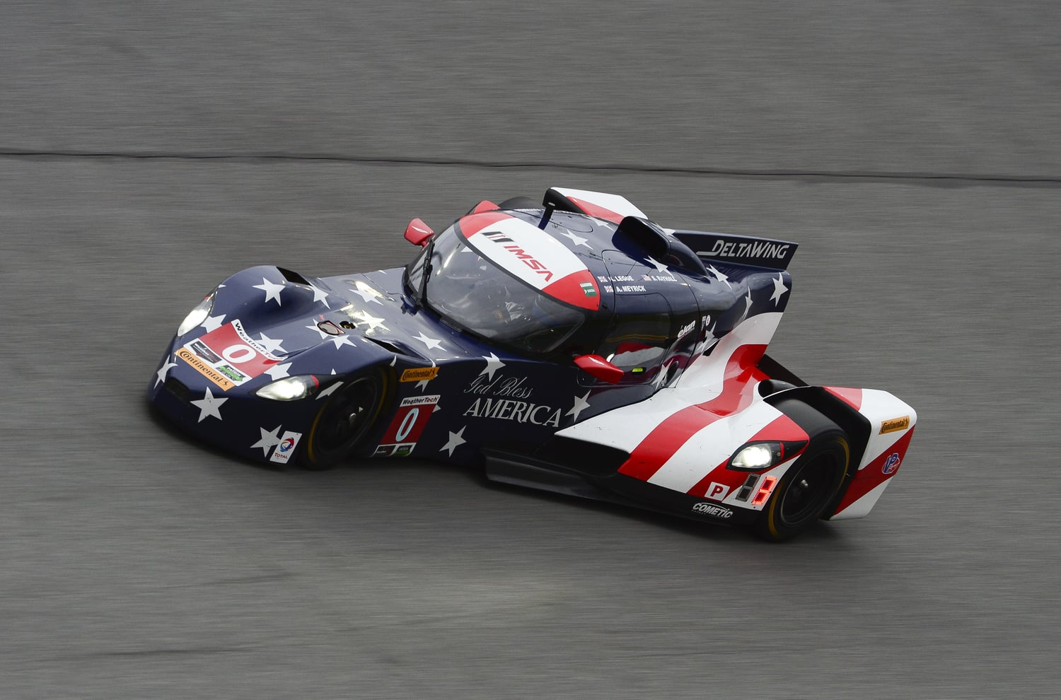 PROGRESS MADE AT THE ROAR BEFORE THE 24  DeltaWing Racing