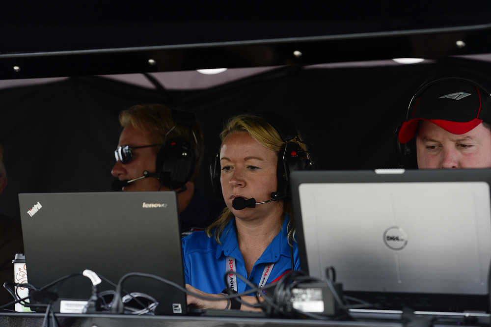 Catherine Crawford at the Rolex 24 Hours of Daytona