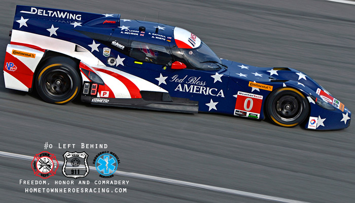 DELTAWING AND HOMETOWN HEROES RACING JOIN FORCES  DeltaWing Racing