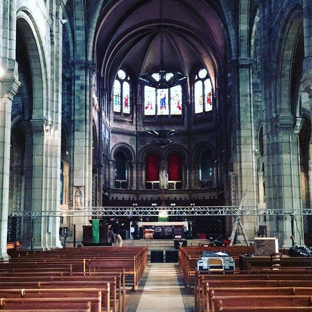 C O N C E R T. Ce soir 20h30 c'est à Bordeaux Eglise du Sacré-Coeur que ça se passe ! Les techs sont en train d'installer. À ce soir ! ☝️Billetterie sur place ou en preventes sur Yatal.fr 🎟