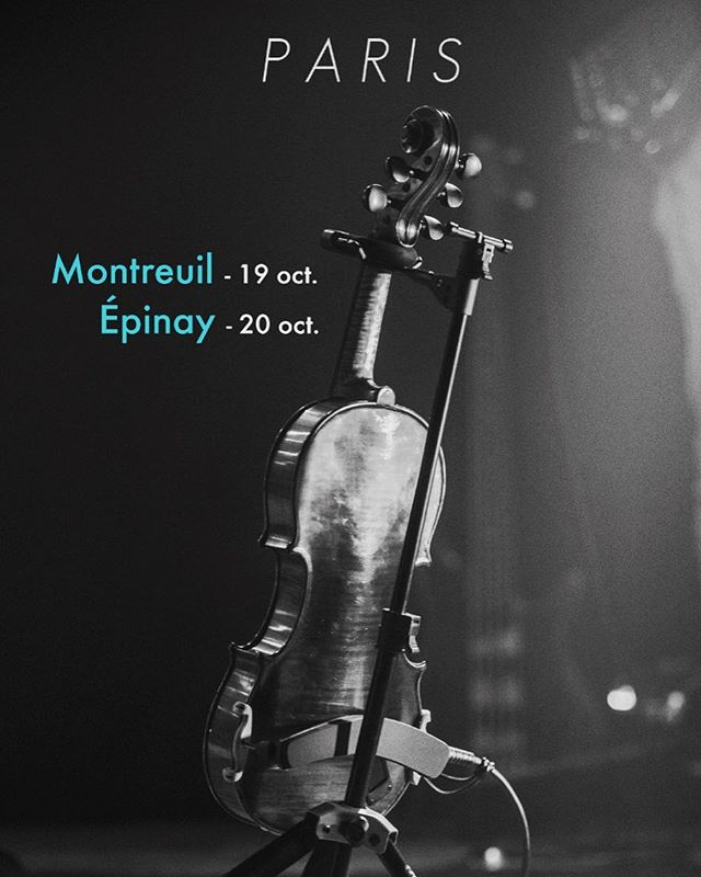 RDV en octobre pour des concerts en région parisienne #Paris #Concert #Epinay #EspaceLumiere
