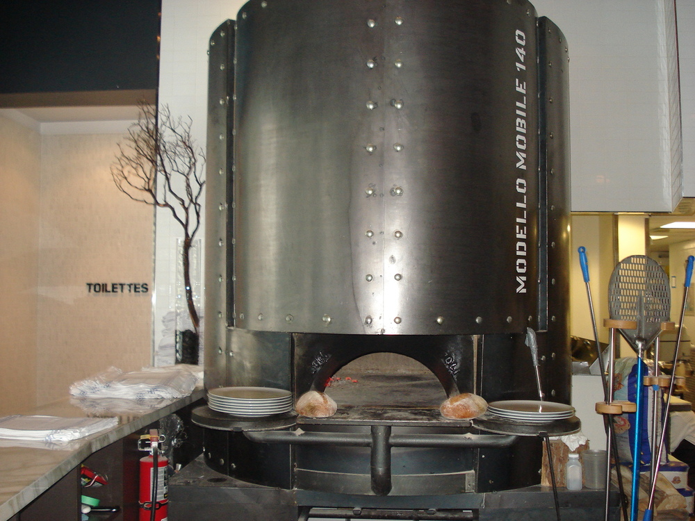 Picture of pizza oven in Fabbrica