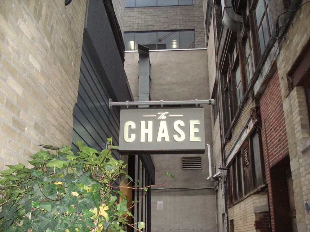 Picture of the Chase signage