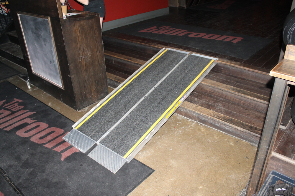 Image of accessible entrance with ramp.