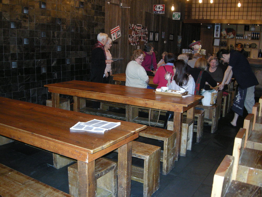 Image of inside of accessible restaurant.