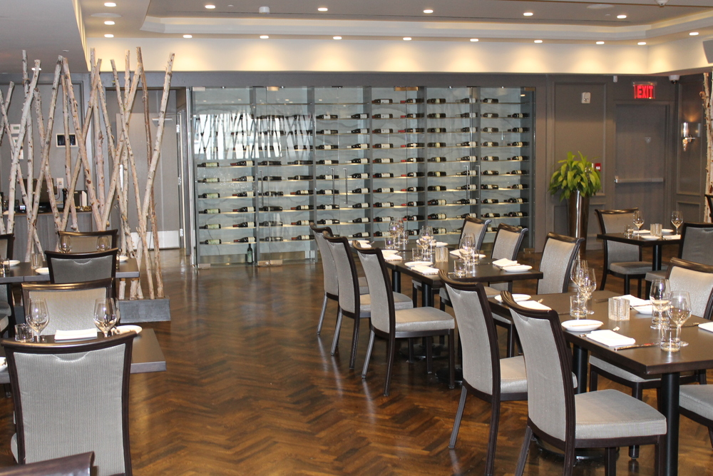 Picture of accessible restaurant interior.